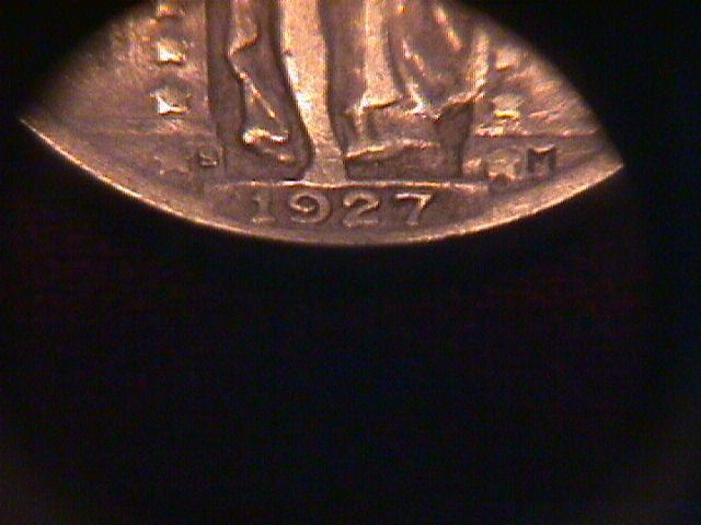 Standing Liberty Silver Quarter  1927-S   Very Fine Plus Condition