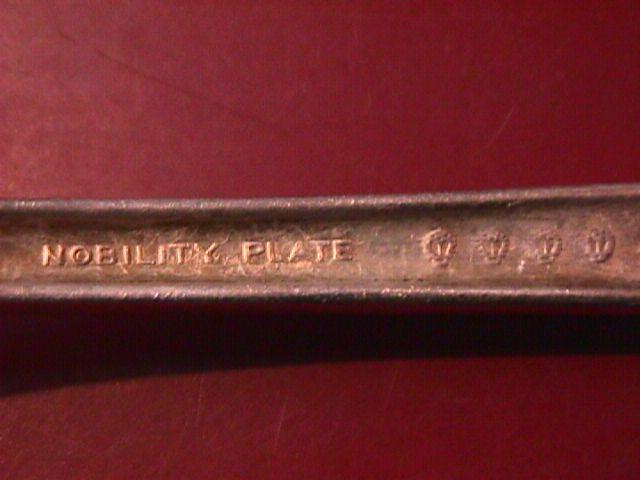 Oneida Nobility Silverplate CAPRICE1937 Cold meat Fork