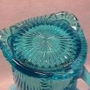 Jefferson Glass Co.- Blue Opalescent (Tokyo) Water Pitcher