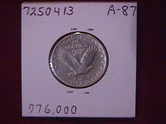 Standing Liberty Silver Quarter
