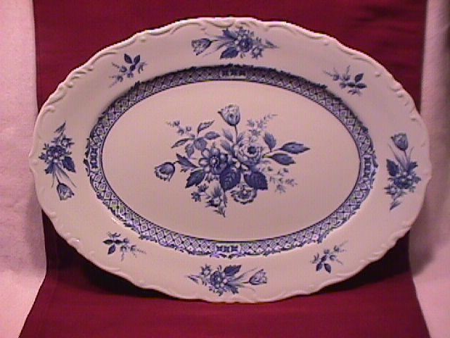 Mikasa Fine China (Rosalie) #L-9079 Ham Platter