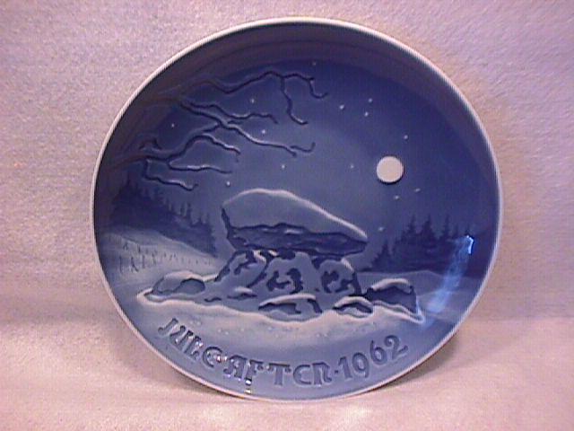 Bing & Grondahl 1962 Annual Christmas Plate