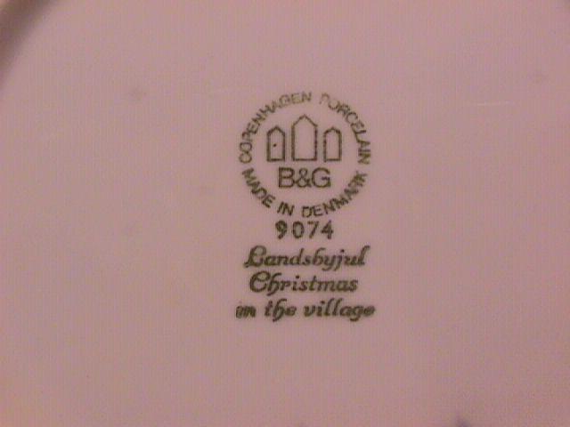 Bing & Grondahl Christmas Plate,