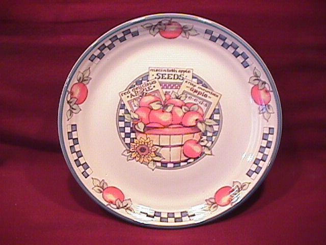 International Tableworks China (Appletime) Salad Plate