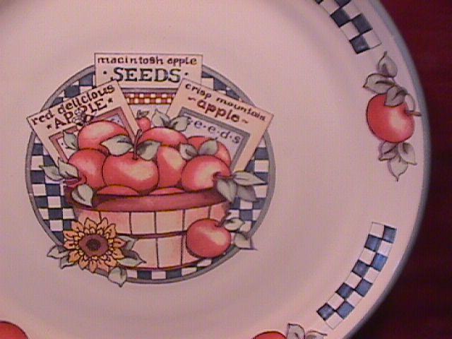 International Tableworks China (Appletime) Soup Bowl