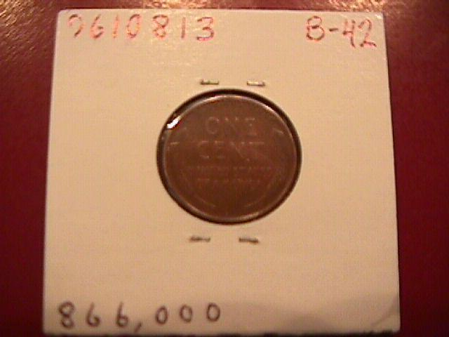 Lincoln Penny Copper 1931-S Extremely Fine Condition