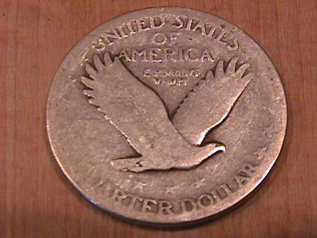 Standing Liberty Silver Quarter 1927-S Very Good Plus Condition