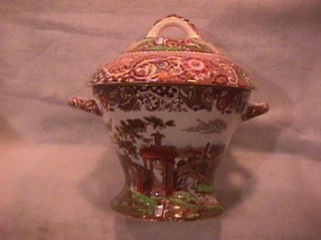 Midwinter China Canterbury Server Set (Landscape) Covered Soup Tureen