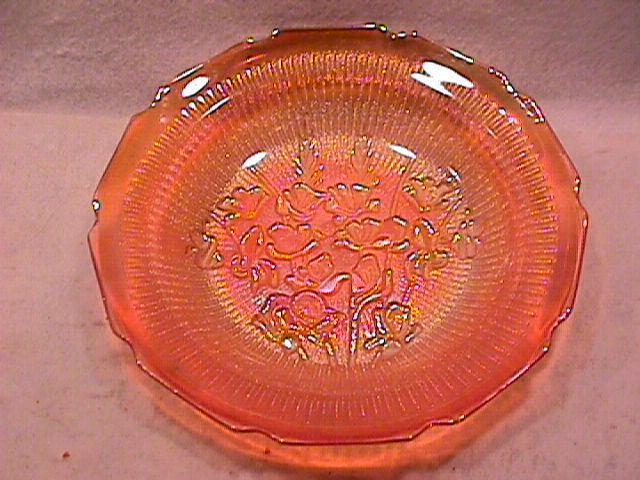 Jeanette Glass Co. (Iris & Herringbone) Soup Bowl