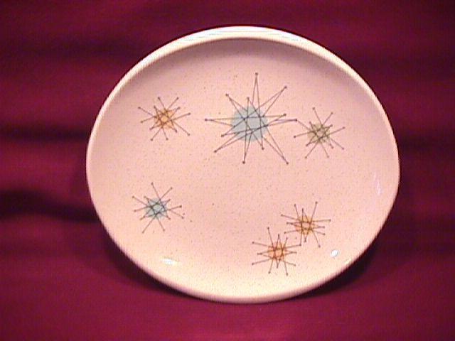 Franciscan China (Starburst) Cake Plate