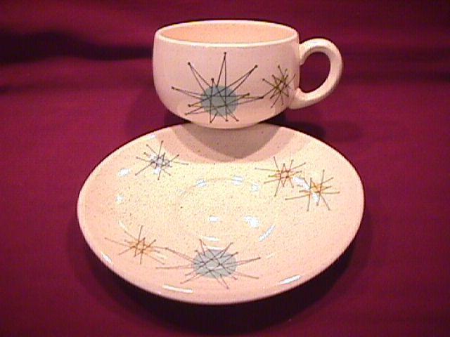 Franciscan China (Starburst) Cup & Saucer