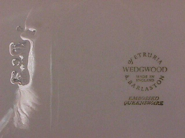 Wedgwood China Embossed (Queensware) Salad Plate
