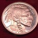 1 TROY OUNCE .999 PURE SILVER ROUND