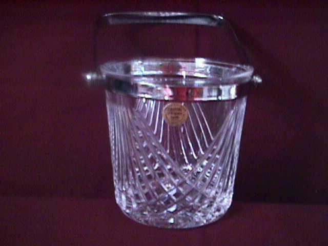 Cristal d'Arques Cut Crystal (Comburg) Ice Bucket