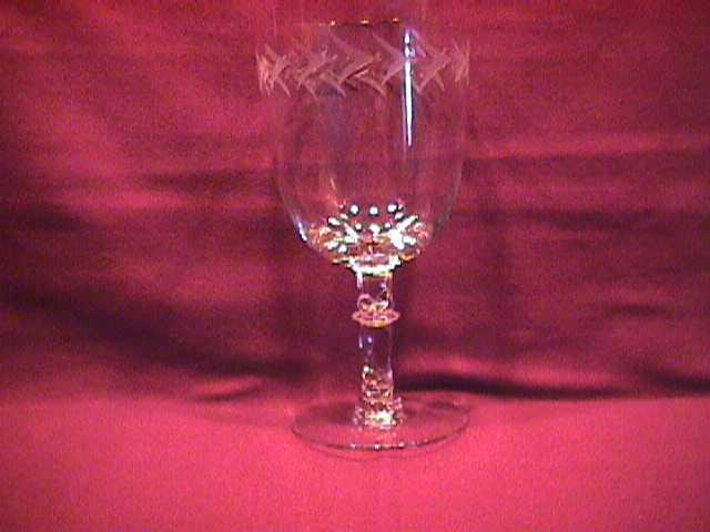 Fostoria (Holly) Low Water Goblet