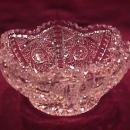 Cut-Glass Crystal Bowl