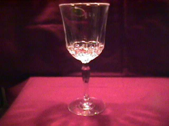 St. George Crystal (American Heritage) 2=Goblets