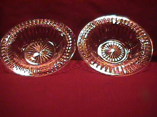 2=Beautiful-Cut Crystal Bowls