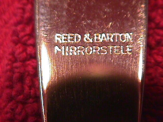 REED & BARTON SILVERPLATE
