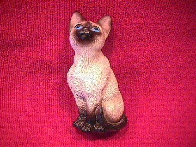 Lefton, Hand-Painted, Persian Cat Figurine