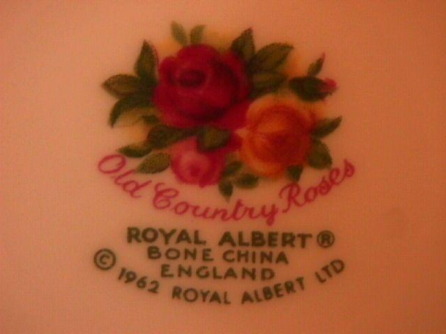 Royal Albert (Old Country Roses) Round Butter Lid Only