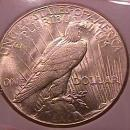 Peace Type Silver Dollar 1927 MS #-67 Condition