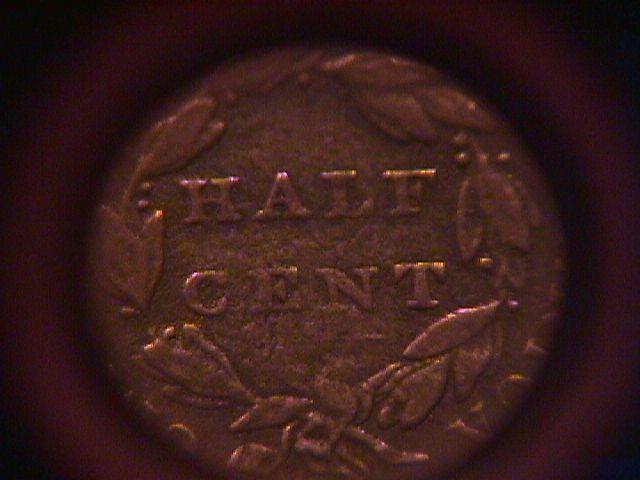 Coin Classic Head Copper Half Cent 1835  Very Fine # 25 Condition