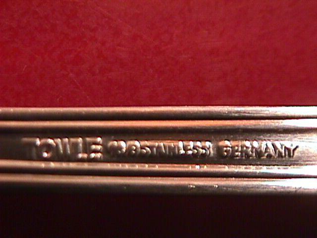 TOWLE 18/8 STAINLESS STEEL GERMANY