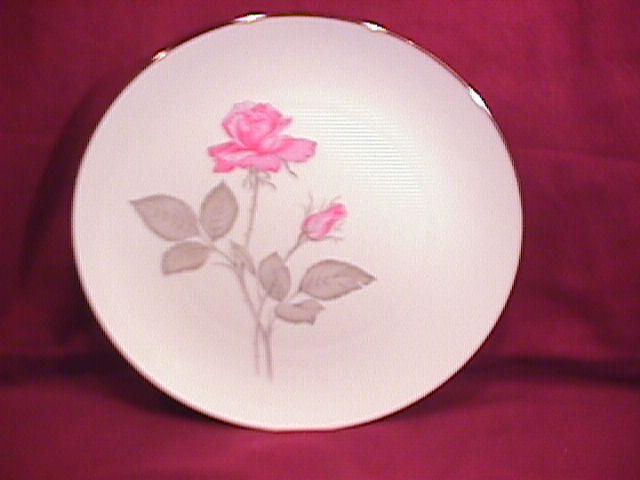Zylstra Fine China (Zylstra Rose) Dinner Plate