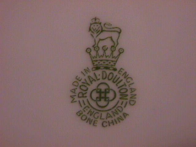 Royal Doulton, Bone China Display Plate