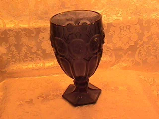 Fostoria, Victorian Cameo-Fos-3,= Iced Tea-Dk. Blue