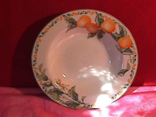 Avon Fine China (Country Fruit) Soup Bowl