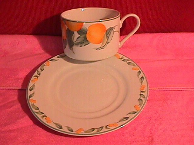 Avon Fine China (Country Fruit) Cup & Saucer