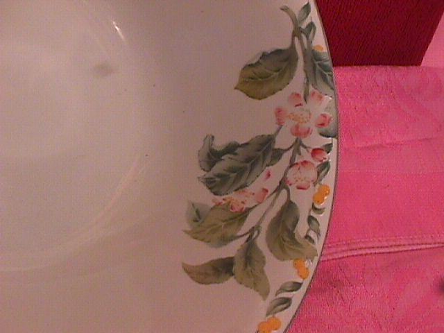 Avon Fine China (Country Fruit) Round Vegetable
