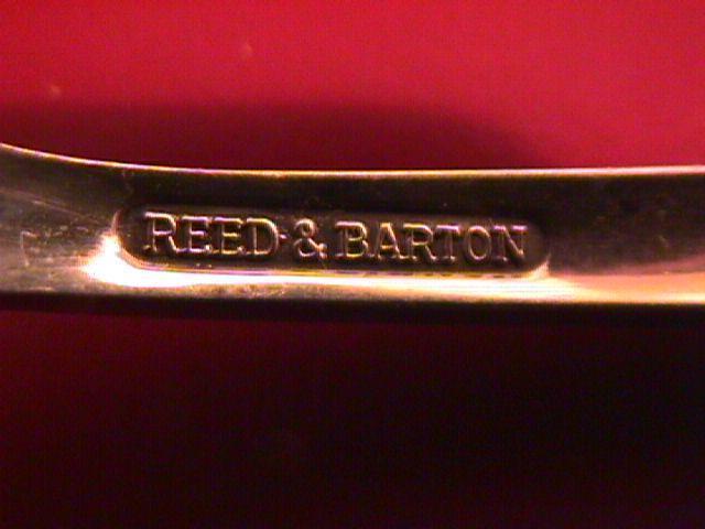REED & BARTON 2 TEASPOONS