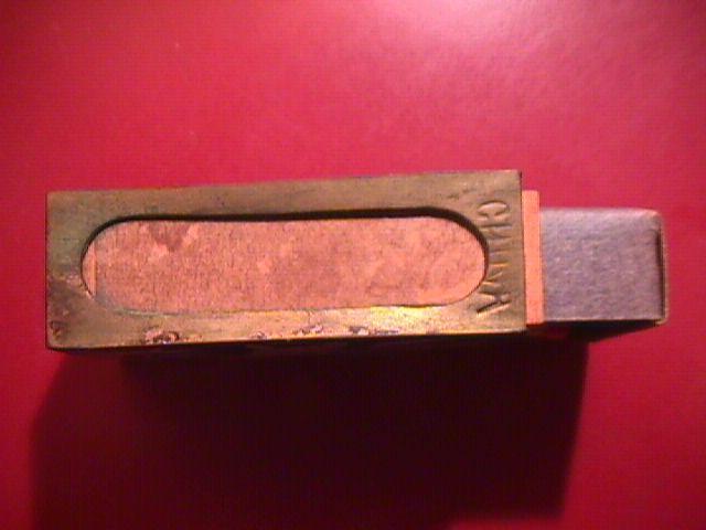 CLOISONNE PENNY MATCH BOX SAFE