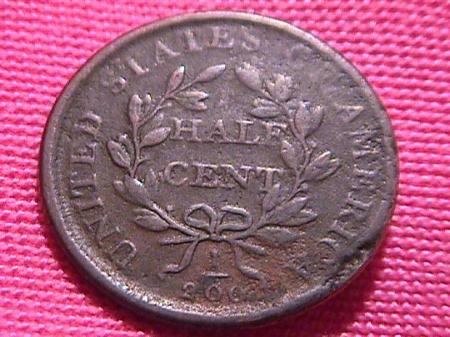 DRAPED BUST 1808 GRADED FINE