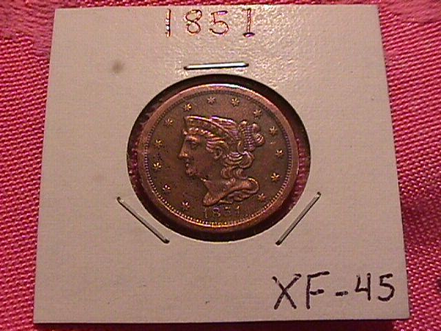 BRAIDED HAIR 1851 GRADED EXTREMELY FINE-45