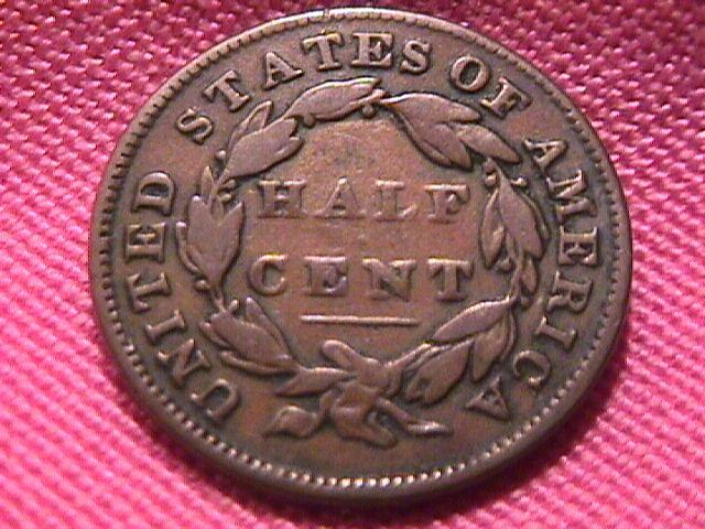 CLASSIC HEAD 1832 VERY FINE-20 GRADED HALF CENT