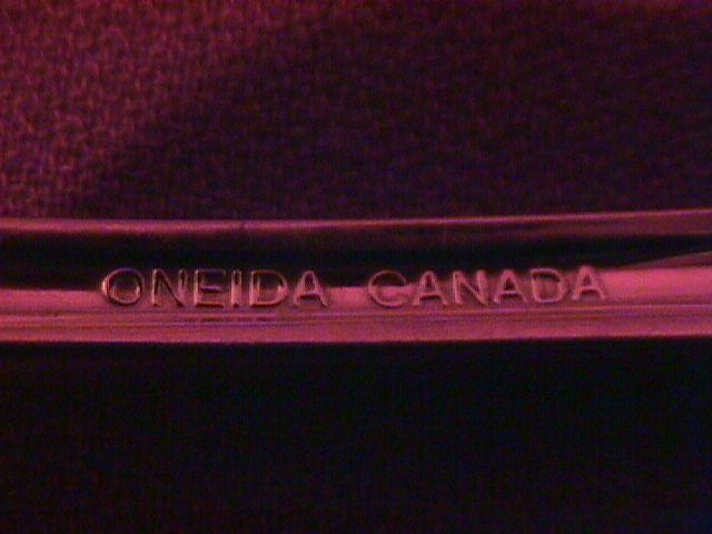 Oneida Stainless 18/8 Arbor AKA American Harmony Table Serving Spoon