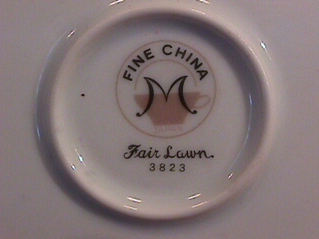 Fine China of Japan, (Fair Lawn #3826) Soup Bowl