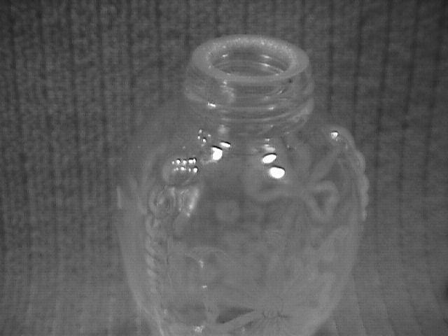 Heisey, Orchid, Salt Shaker, No Metal Lid