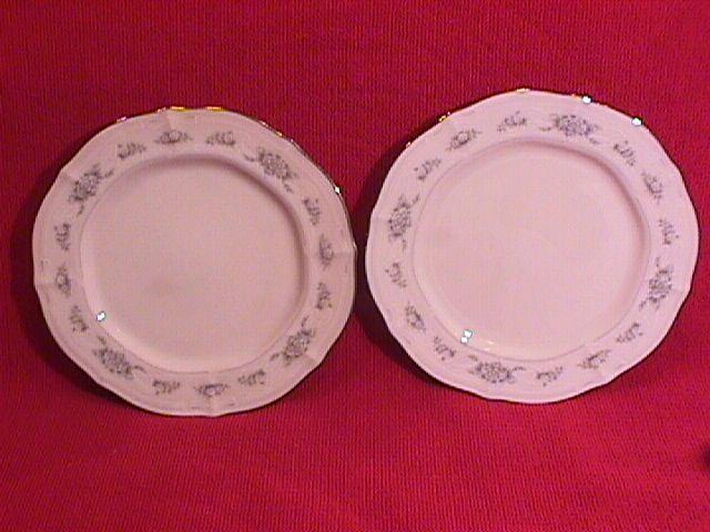 Noritake Ivory China (Southern Lace) 2-Cake Plates