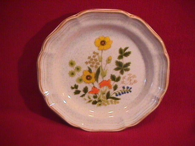 Mikasa China (Fresh Floral) Salad Plate