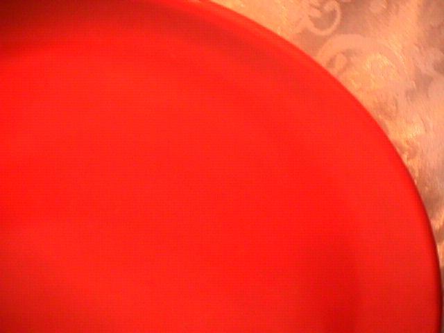 Metlox Poppytrail, (Coronado-Orange), Chop Plate