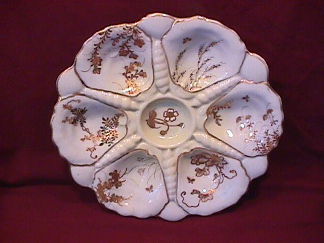 Antique, Porcelain, Japanese (Oyster Plate)