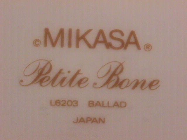 Mikasa Petite Bone China (Ballad) Cup & Saucer