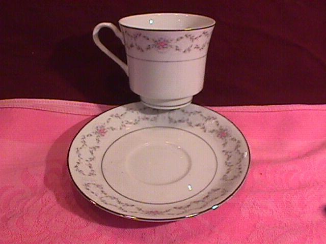 Fine China of Japan (Fair Lawn) #3823 Cup & Saucer