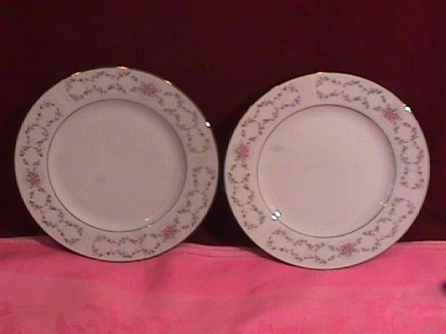 Fine China of Japan (Fair Lawn) #3823, 2-Cake Plates