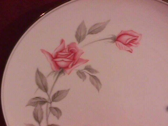 Noritake Fine China (Rosemarie) #6044 Dinner Plate